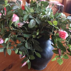 Other - Vase with sweet pink florals